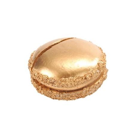 Macaron Porte Nom or