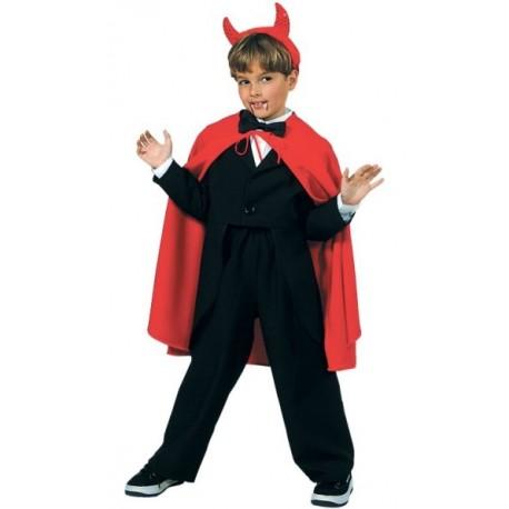 Deguisement cape rouge deluxe enfant mixte