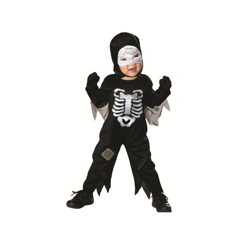 D Guisement Squelette Halloween B B Gar On Avec Son