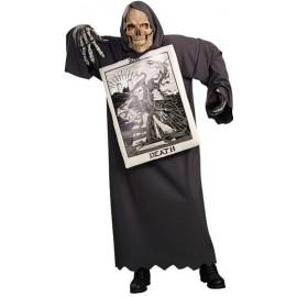 Déguisement Tarot Death avec masque Adulte Homme
