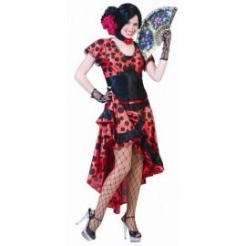 Déguisement espagnole flamenco femme