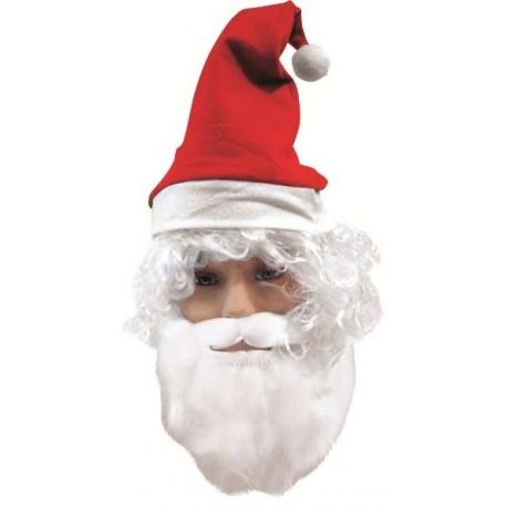Barbe Père Noël et Moustache Adulte