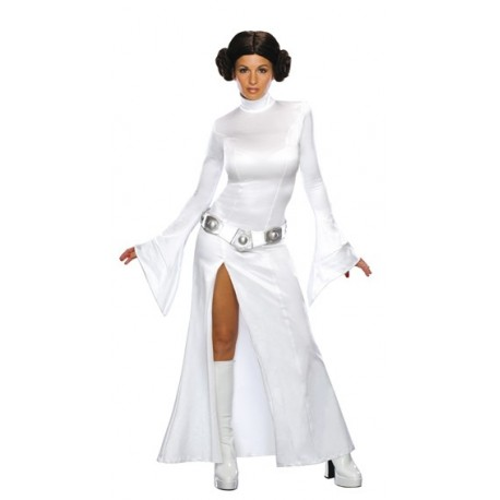 Déguisement Princesse Leia Star Wars Deluxe Sexy Femme