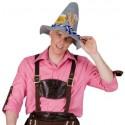 Déguisement chemise Tyrolienne homme vichy rose