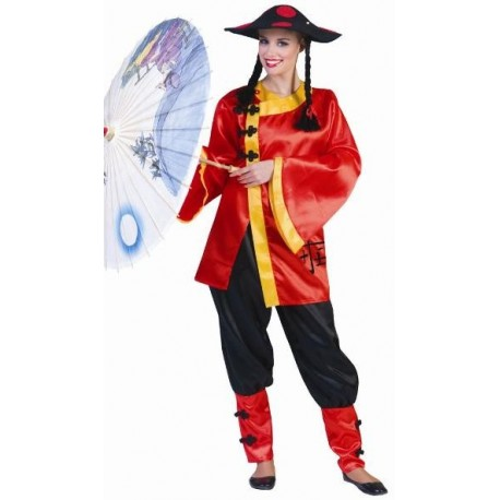 Deguisement Chinoise Ling Femme