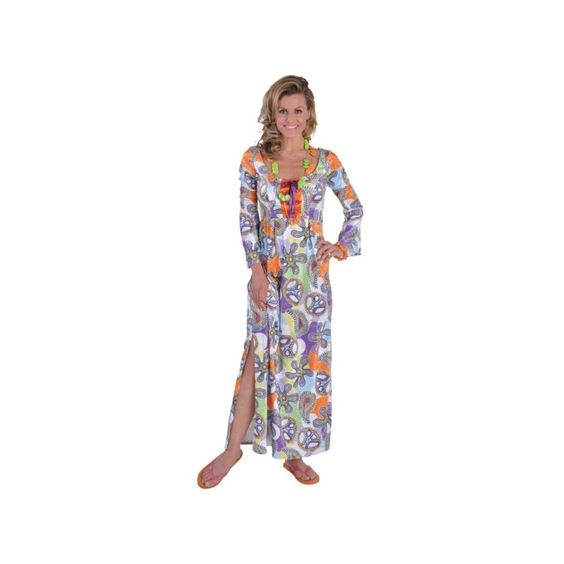 Garden party decoration - D 233 Guisement Hippie Robe Cool Chic Deluxe 70 S Femme Baiskadreams