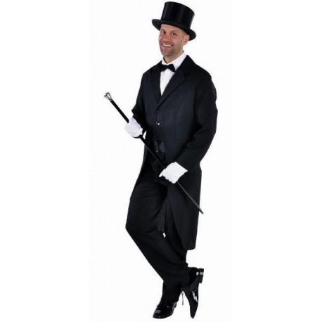Queue de Pie Deluxe Noire Homme Deguisement