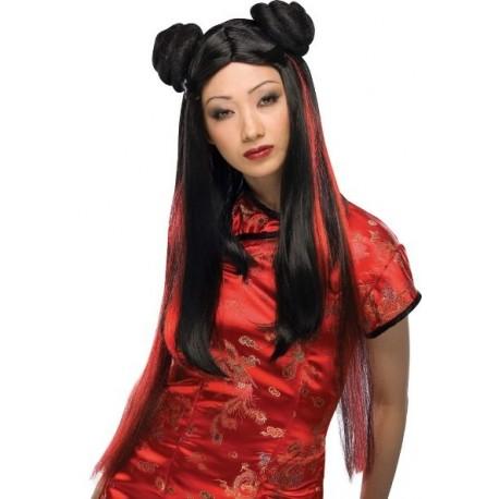 Perruque Miss Show Japonaise Longue Deluxe Femme