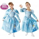 Déguisement Cendrillon Disney Princess Winter luxe Enfant