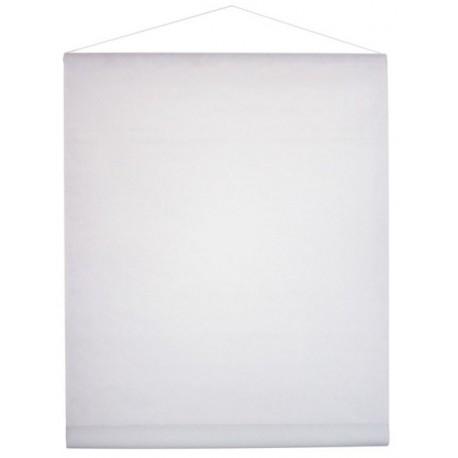 Tenture de Salle intisse blanc Tissu Non Tisse 12 M