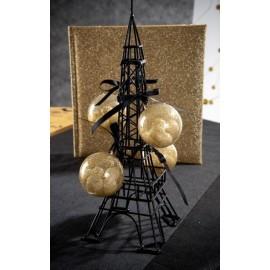 Tour Eiffel métal noir Décoration 28.5 cm