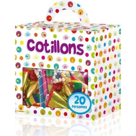 Cotillons f te boite cotillon 20 personnes kit cotillon de f te - Image cotillons fete ...