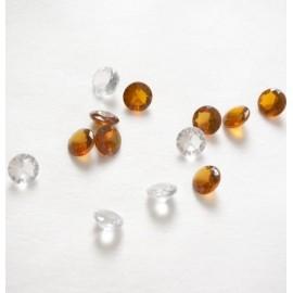 Petits Diamants Déco A Facettes 1 cm les 50