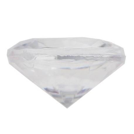 Petit diamant deco transparent a facettes