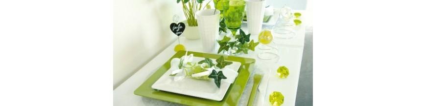 Vert Anis, Amande, Pomme, Vert Sapin