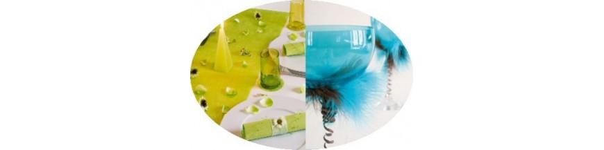 Turquoise, Vert Anis