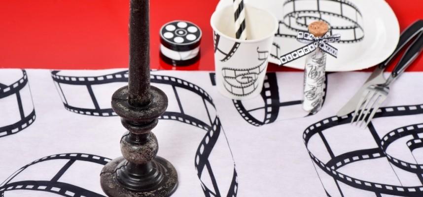 Déco cinéma en noir et blanc