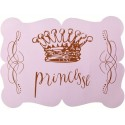 Sets de Table Princesse Rose en Carton les 6