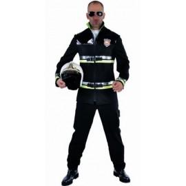 Costume de déguisement Sapeur Pompier Luxe Homme