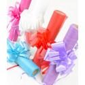 Noeuds automatiques mariage et fête 50 mm les 5 - 14 coloris