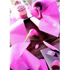 Ruban Intissé uni couleur 10 M - décoration