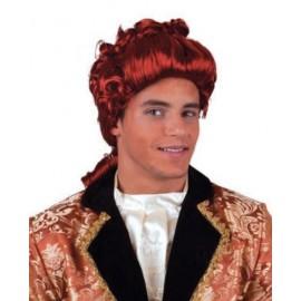 Perruque Baroque Rococo Auburn Adulte Homme