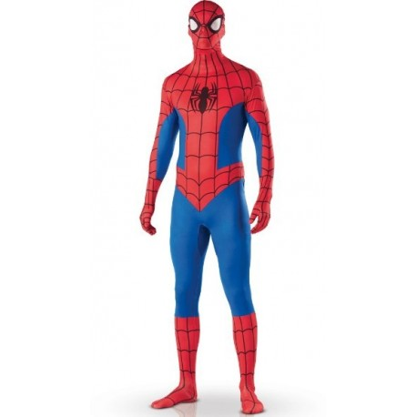 Déguisement Spiderman Adulte 2ND SKIN seconde peau