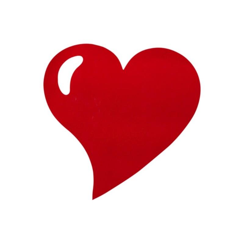 Set de table coeur intiss rouge bordeaux les 50 - Image de coeur a imprimer ...