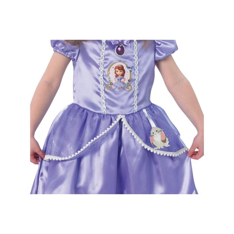 D guisement princesse sofia fille luxe disney - Deguisement fille disney ...