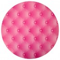 Set de table glamour fuschia 34 cm les 6