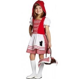 Déguisement le petit chaperon rouge fille