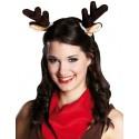 Oreilles de Renne de Noël sur pince à cheveux