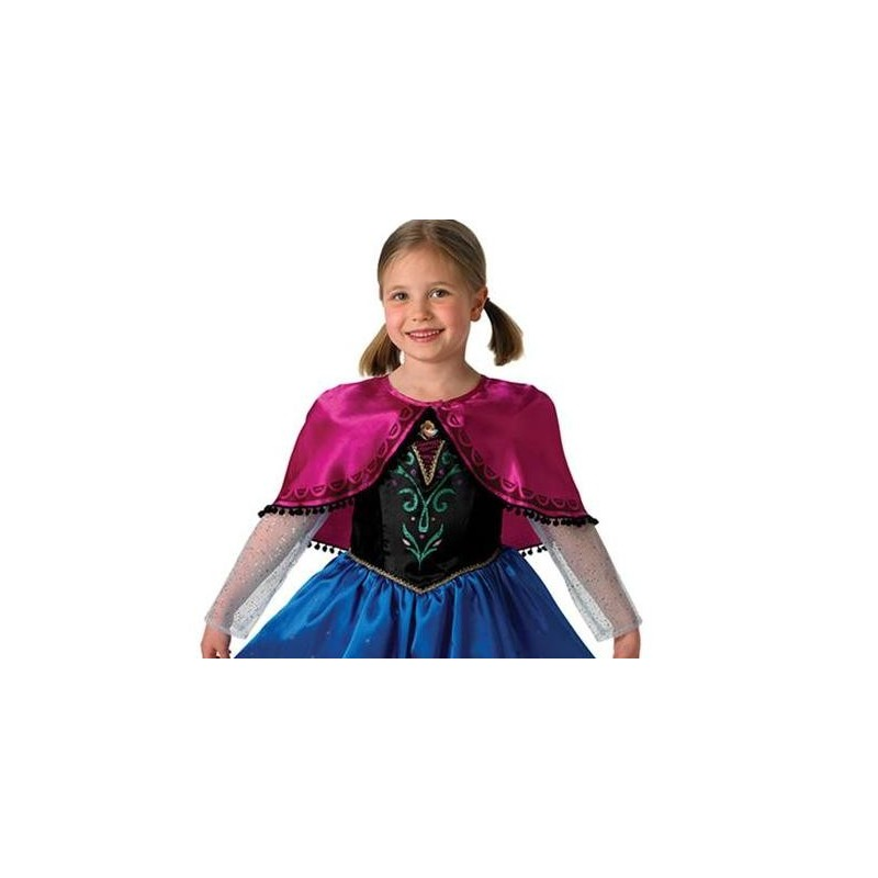 d guisement anna de la reine des neiges disney frozen deluxe enfant. Black Bedroom Furniture Sets. Home Design Ideas