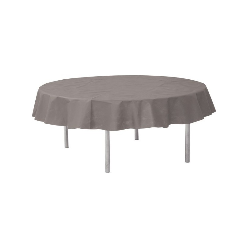 nappe ronde intiss opaque 240 cm nappes rondes intiss mariage f tes. Black Bedroom Furniture Sets. Home Design Ideas