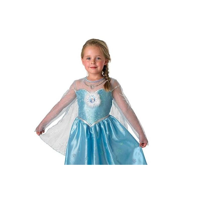 D guisement elsa la reine des neiges disney frozen deluxe enfant - La reine elsa ...