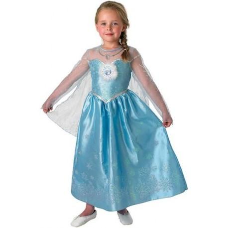Déguisement Elsa La reine des Neiges Disney Frozen deluxe