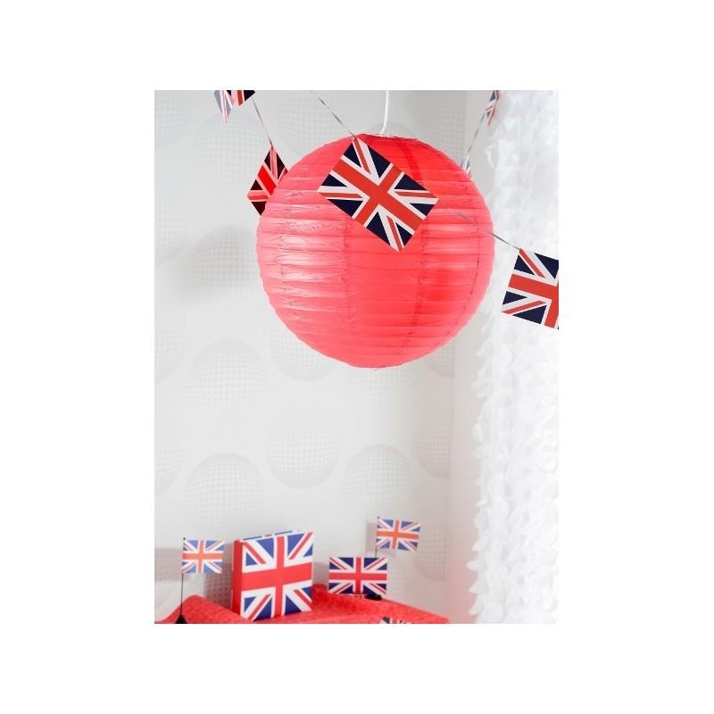lanterne boule chinoise papier rouge 30 cm les 2. Black Bedroom Furniture Sets. Home Design Ideas