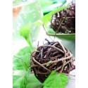 Boules Rotin Chocolat Naturel Diamètres Assortis les 10