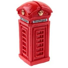 Marque place cabine téléphonique londonienne (anglaise)