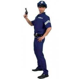 Déguisement agent de police homme policier adulte