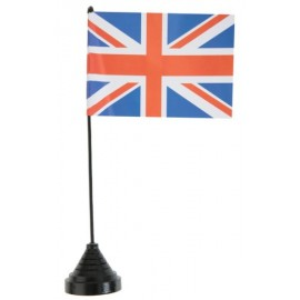Drapeau de table Angleterre Union Jack 25 cm