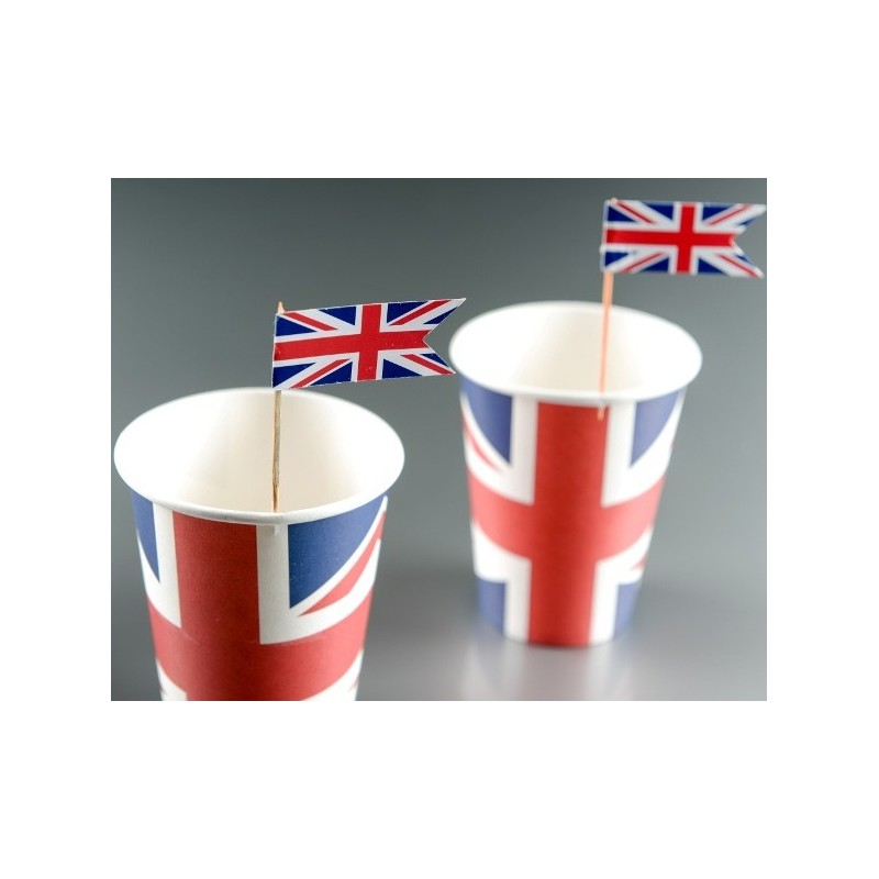 pique cocktail drapeau anglais union jack les 10