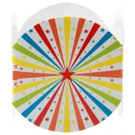 Ronds de serviette Cirque étoiles les 6