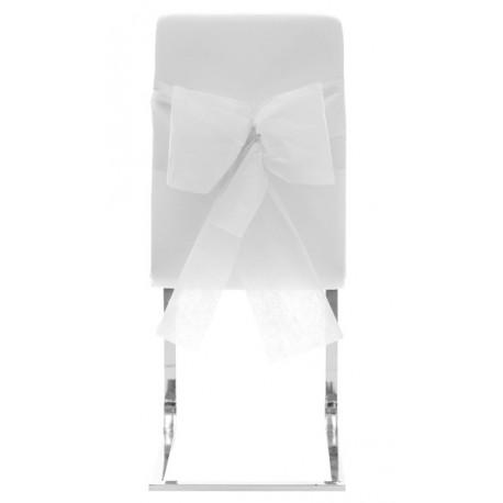 Noeuds de chaise automatiques intissé blanc les 10