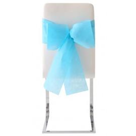 Noeuds de chaise automatiques intissé Turquoise les 10