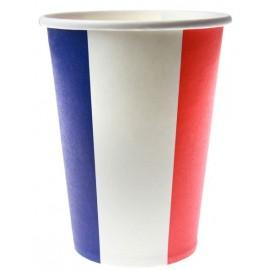 Gobelets France drapeau Français carton les 10