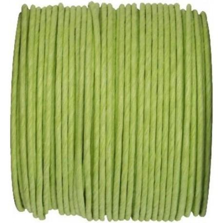 Lien Paper Cord Laitonne Vert Amande