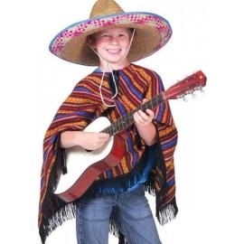 Déguisement Poncho Mexicain Enfant