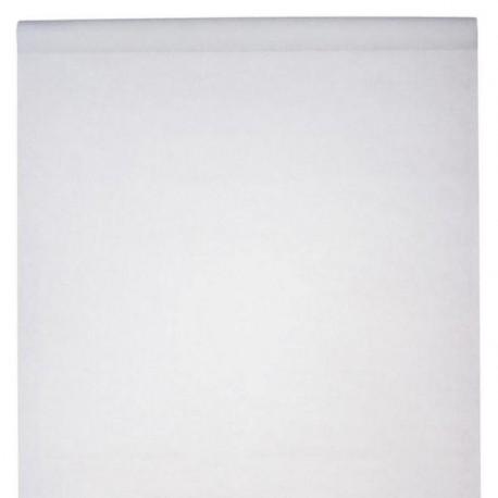 Nappe en rouleau intissé blanc 10 M x 120 cm