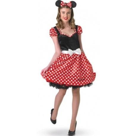 Déguisement Disney Minnie Mouse Adulte Femme